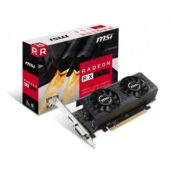 MSI RX 550 2GT LP OC 2GB GDDR5 DVI HDMI 128Bit