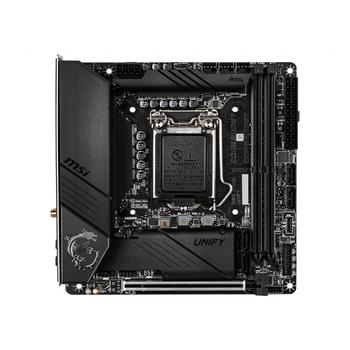 MSI MEG Z490I UNIFY DDR4 5000(OC)Mhz Mini-ITX 1200p