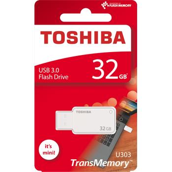 32GB USB3.0 BEYAZ AKATSUKI TOSHIBA THN-U303W0320E4