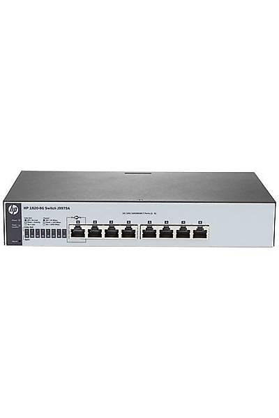 HP J9979A 1820-8G 10/100/1000 WEB YÖNETÝLEBÝLÝR SWITCH