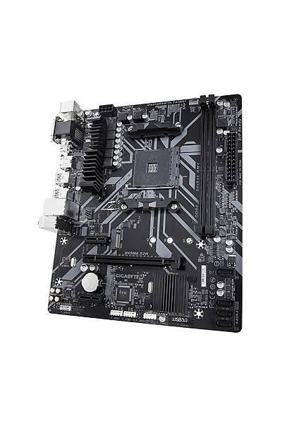 GIGABYTE B450M S2H AMD B450 DDR4 M2 mATX Rev 2.0