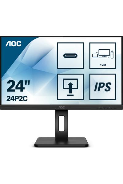AOC 23.8 24P2C 1920x1080 75Hz Hdmý Dp 4ms IPS Monitör