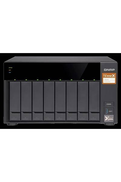 QNAP TS-832X 8 YUVALI NAS DEPOLAMA ÜNİTESİ(2GB)