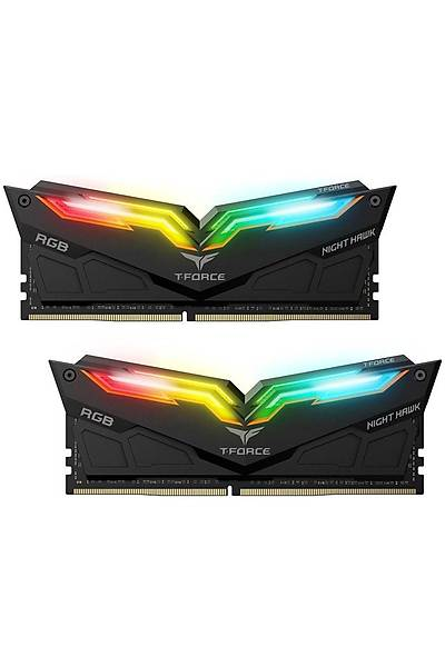 16 GB DDR4 4000 Mhz T-FORCE NIGHT HAWK RGB BLACK 8x2 TEAM TF1D416G4000HC18EDC01