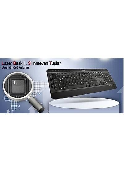 HIPER KM-3900 MULTIMEDIA KLAVYE USB SİYAH