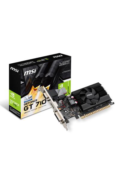 MSI GT 710 1GD3 LP 1GB DDR3 64Bit DVI/HDMI/D-SUB