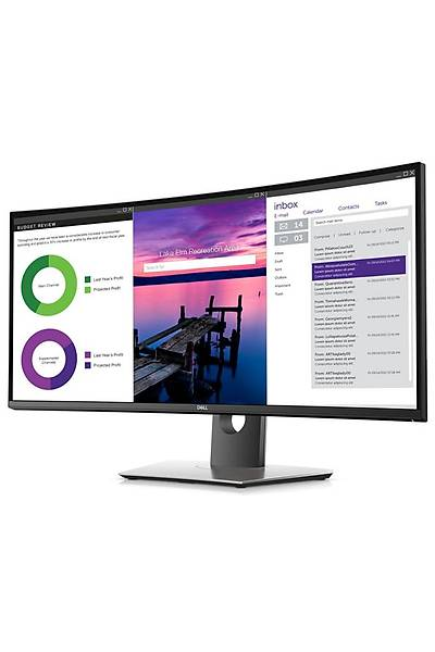 34 DELL U3419W CURVED 8MS 60HZ HDMI DP USB3.0