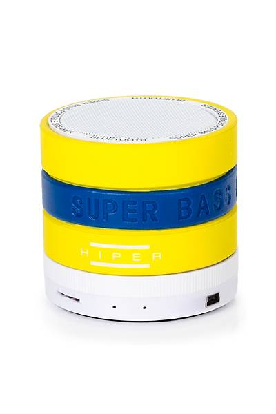 HIPER BT-30Y BLUETOOTH SPEAKER MAVÝ/SARI+KIRMIZI