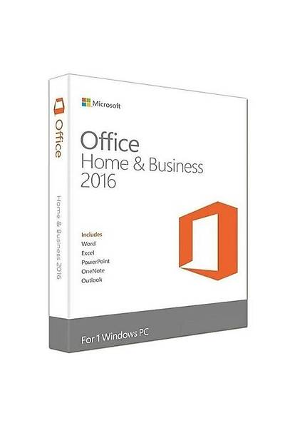 MS OFFICE 2016 HOME AND BUSINESS TR KUTU T5D-02714