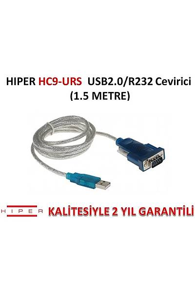 HIPER HC9-URS USB2.0 RS232 ÇEVİRİCİ