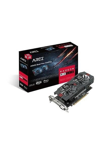 ASUS AREZ-RX560-2G-EVO 2GB GDDR5 HDMI DP 128Bit