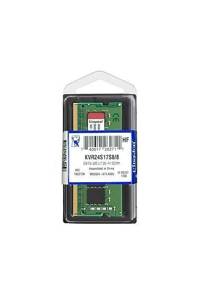 8GB DDR4 2400Mhz SODIMM KVR24S17S8/8 KINGSTON