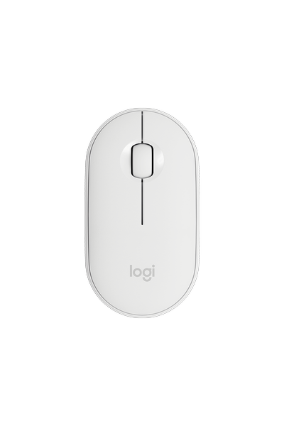 LOGITECH M350 PEBBLE WIRELESS WHITE 910-005716