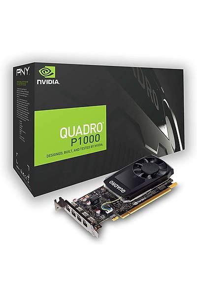 PNY QUADRO P1000 V2 5GB GDDR5 DVI 128Bit VCQP1000DVIV2-PB