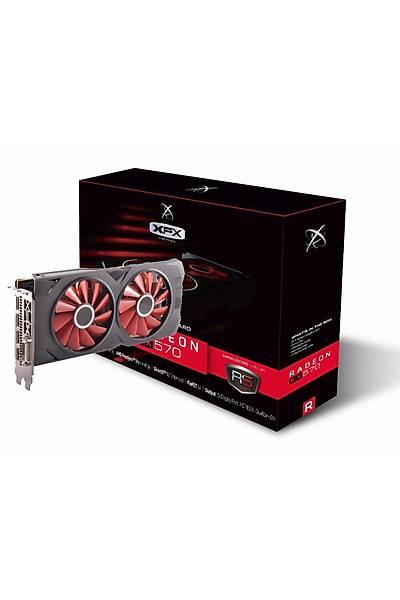 XFX XXX EDITION RX 570 8GB GDDR5 256BİT 570P8DFD6
