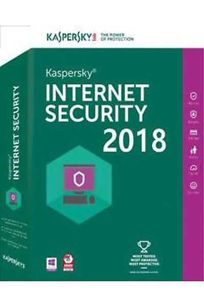 KASPERSKY INTERNET SECURITY 2018 TÜRKÇE 2 KUL 1YIL