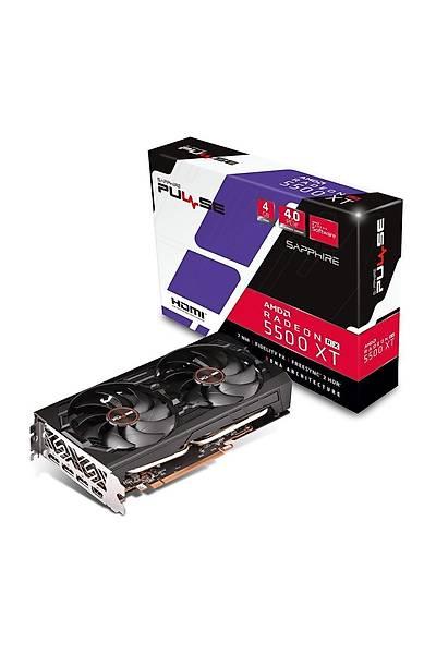 SAPPHIRE RX5500 XT PULSE 4GB GDDR6 HDMI DP 128Bit 11295-03-20G