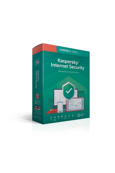 KASPERSKY INTERNET SECURITY 2019 TÜRKÇE 4 KUL 1YIL