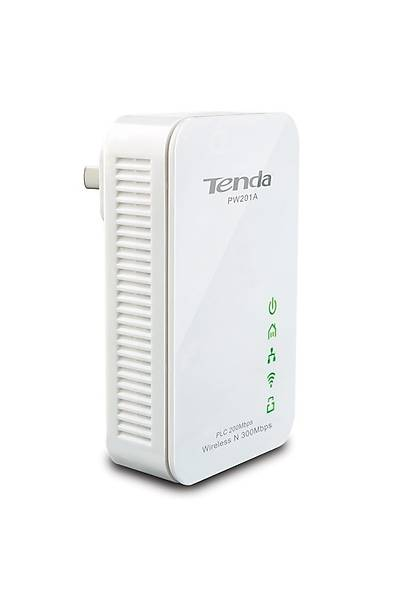 TENDA PW201A+P200 HOMEPLUG WIRELESS KIT 300Mbps
