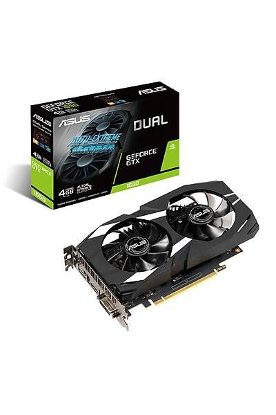 ASUS DUAL-GTX1650-4G GDDR5 128Bit HDMI DP DVI