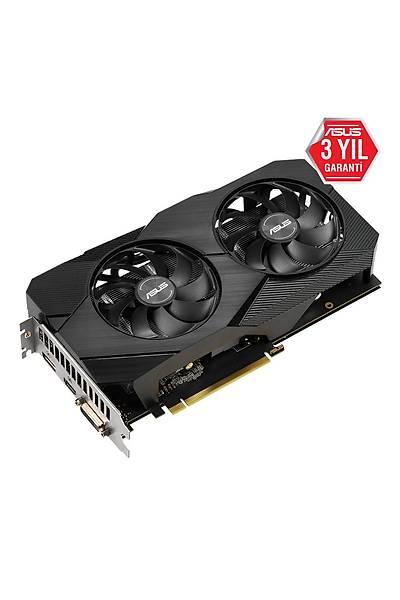 ASUS DUAL-GTX1660-O6G-EVO GDDR6 6GB 192Bit HDMI DP