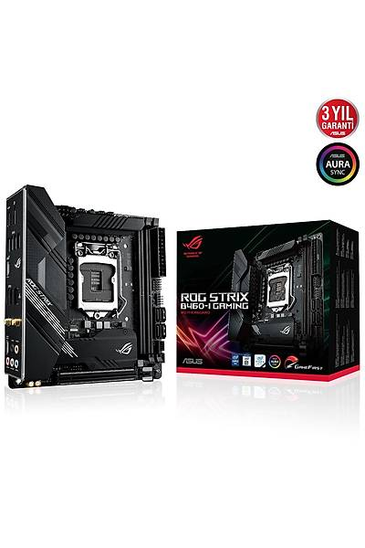 ASUS ROG STRIX B460-I GAMING 2933/2133Mhz HDMI DP 1200p
