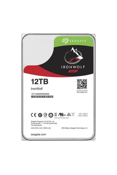 12TB SEAGATE IRONWOLF 7200 256M NAS ST12000VN0008