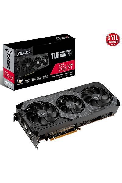 ASUS TUF 3-RX5700XT-O8G-EVO-GAMING 8GB GDDR6 HDMI DVI 256Bit
