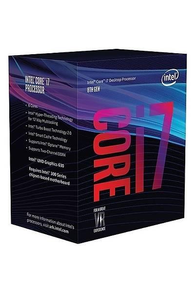 INTEL CORE i7-9700F 4.7Ghz 12MB 1151 9.Nesil VGASIZ