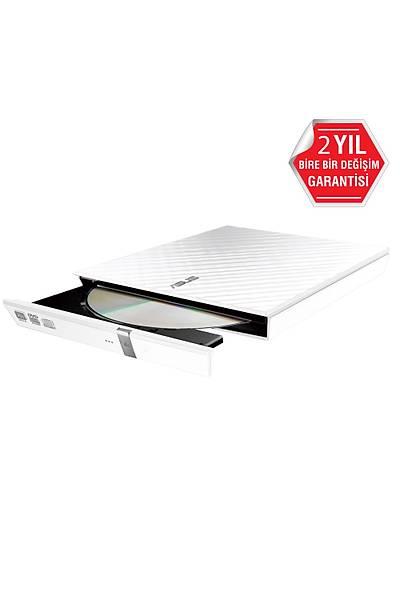 ASUS DVD SDRW-08D2S-U LITE SLIM USB 2.0 BEYAZ
