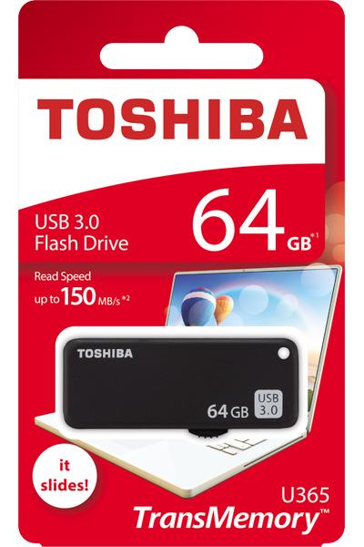 64GB USB3.0 SİYAH YAMABIKO TOSHIBA THN-U365K0640E4