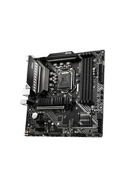 MSI B460M BAZOOKA DDR4 2933Mhz HDMI DVI mATX 1200p