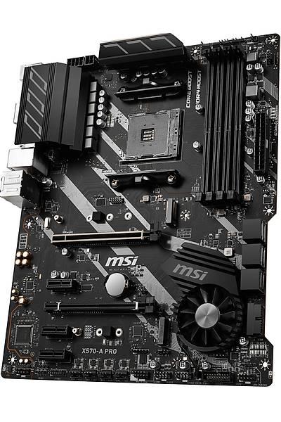 MSI X570-A PRO DDR4 M.2 USB 3.1 ATX AM4