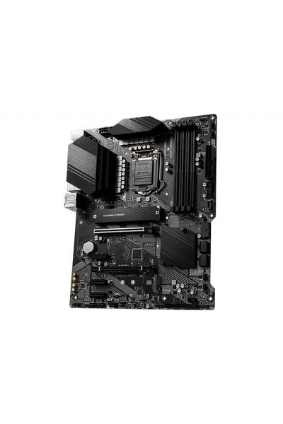 MSI Z490-A PRO DDR4 4800MHz (OC) HDMI DP M.2 USB 3.2 2.5G LAN ATX 1200p