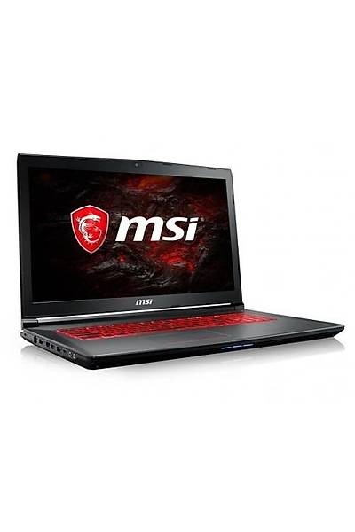 "MSI GV72 7RD-883TR i7-7700HQ 8GB 128GB+1TB 2GB GTX1050 W10 17.3"""