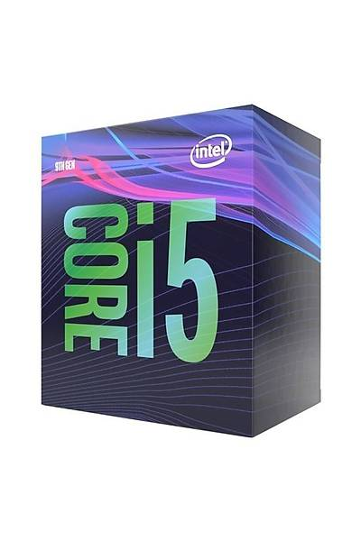 INTEL CORE i5-9500 9MB 4.40Ghz 1151p 9.Nesil