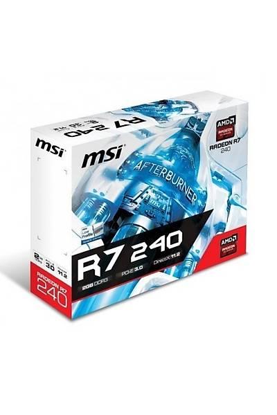 MSI R7 240 2GD3 LPV1 2GB 128Bit VGA/DVI/HDMI