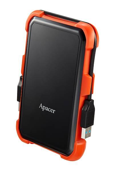 1TB APACER AC630 TURUNCU USB DÝSK GEN1  USB3.1 DARBEYE DAYANIKLI