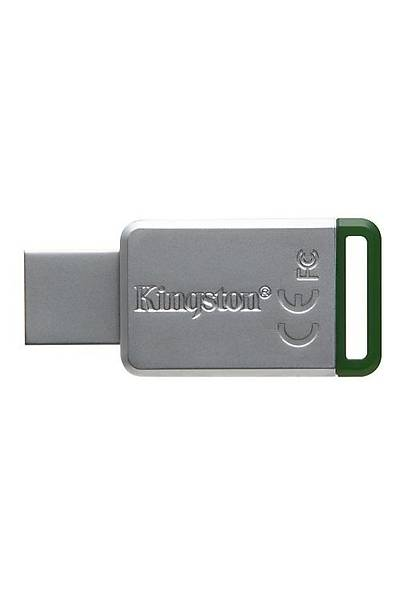 16 GB USB 3.1 DT50/16G METAL YEÞÝL KINGSTON