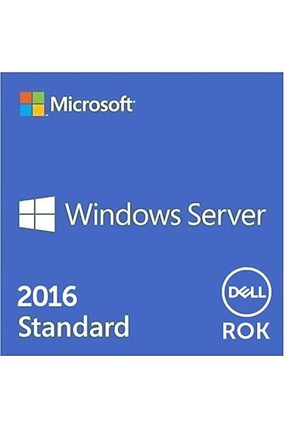 DELL WINDOWS SERVER 2016 STANDART ROK W2K16STD