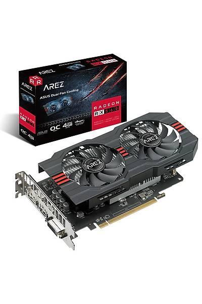 ASUS AREZ-RX560-O4G-EVO 4GB GDDR5 HDMI DP 128Bit