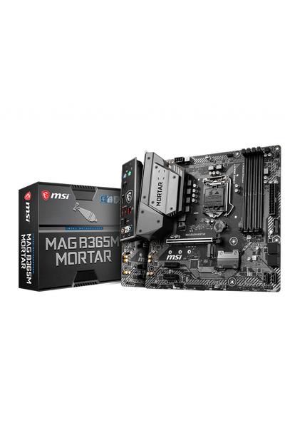 MSI B365M MORTAR DDR4 2666 HDMI USB3.1 mATX
