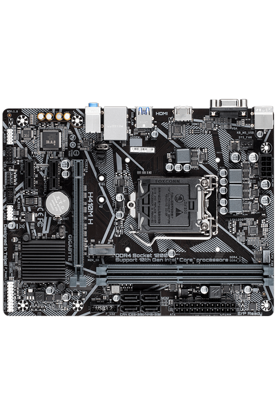 GIGABYTE H410M H DDR4 2933MHz HDMI 1200p