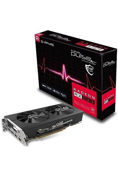 SAPPHIRE RX 580 8GB DDR5 PULSE OC 11265-05-20G