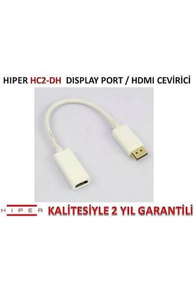 HIPER HC2-DH DİSPLAY PORT/HDMI ÇEVİRİCİ (KLİPSLİ)