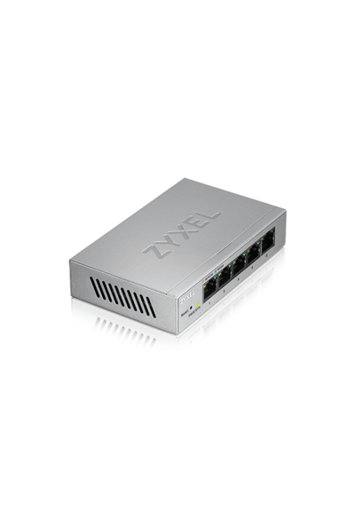 ZYXEL GS1200-5 5PORT GIGABIT WEB YÖNETÝLÝR SWITCH