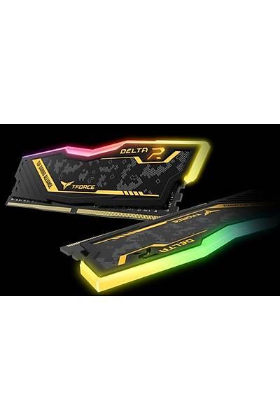 32 GB DDR4 3200M T-FORCE DELTA RGB TUF YELLOW 16x2