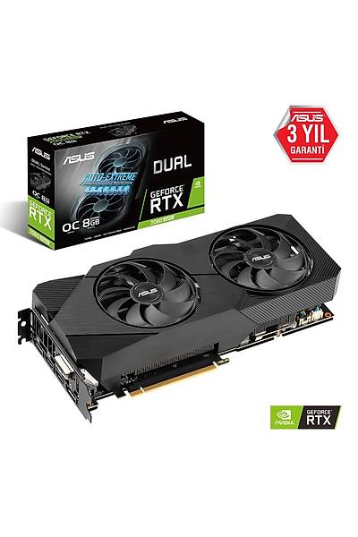 ASUS DUAL-RTX2060S-O8G-EVO V2 8GB GDDR6 256Bit