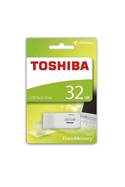 32 GB USB 2.0 HAYABUSA BEYAZ TOSHIBA THN-U202W0320E4