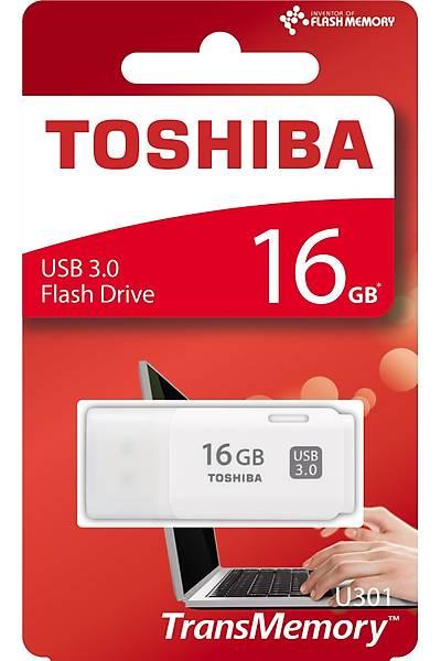 16 GB USB 3.0 HAYABUSA BEYAZ TOSHIBA THN-U301W0160E4